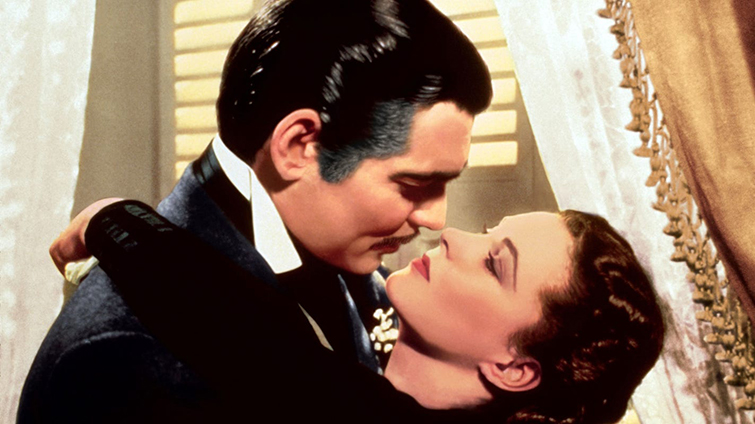 Una guía de los géneros cinematográficos básicos (y cómo usarlos) - Clark Gable y Vivien Leigh en Lo que el viento se llevó