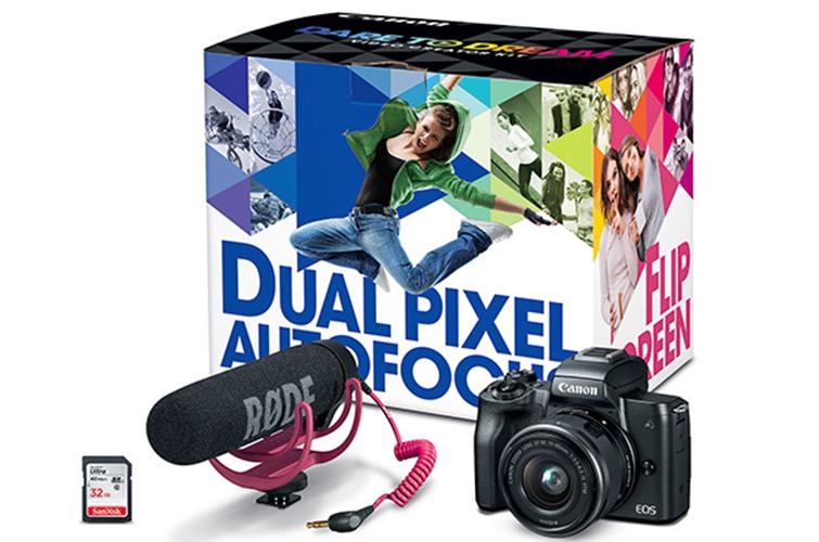 Kit de creador de video EOS M50