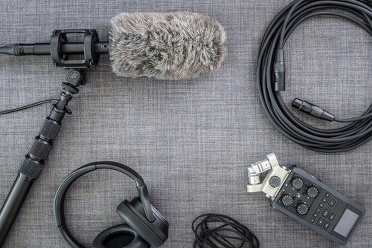 Equipo de grabación de audio