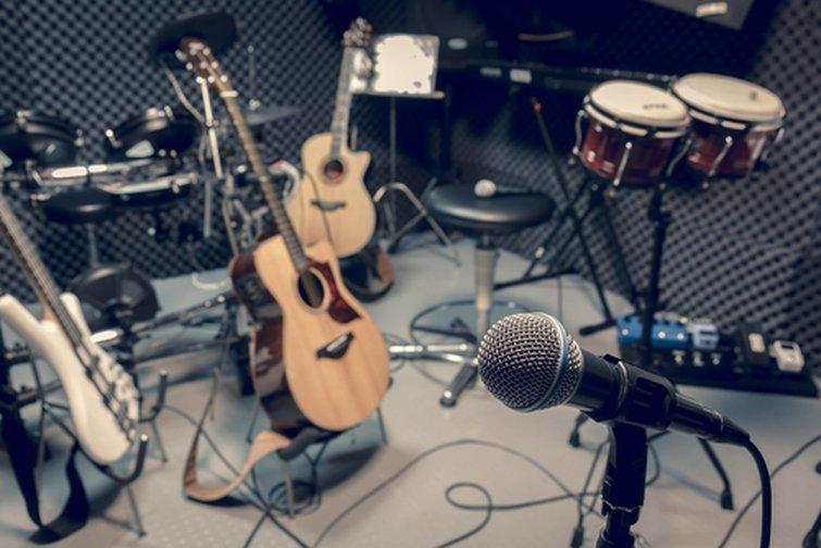 Micrófonos de grabación