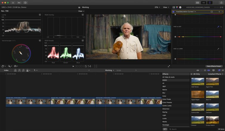 FCPX: Revisiones