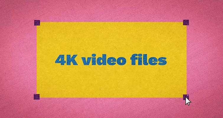 Archivos de video 4K