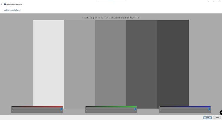 Calibración de monitores con Windows: ajuste de color