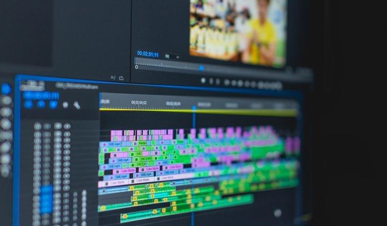 Línea de tiempo del video
