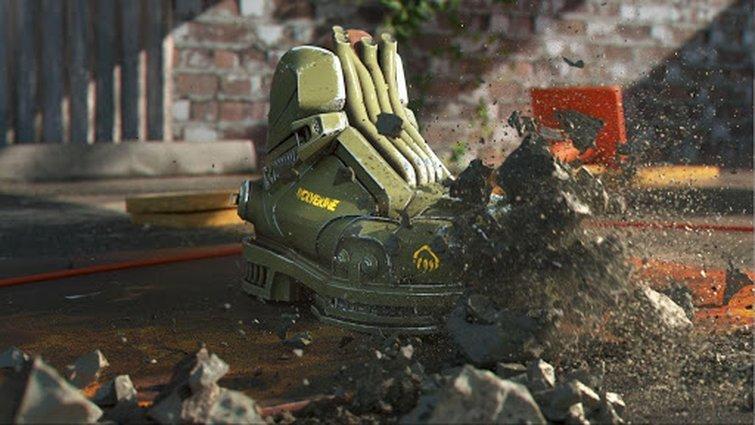 Las animaciones 3D de HELLCAT Boot
