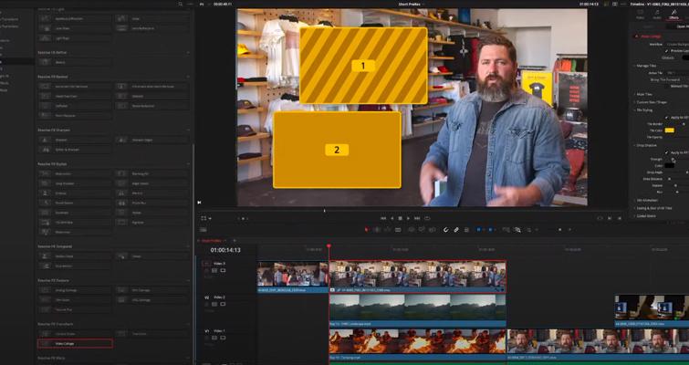 Blackmagic anuncia DaVinci Resolve 17: Color y edición - DaVinci Resolve 17: Video Collage