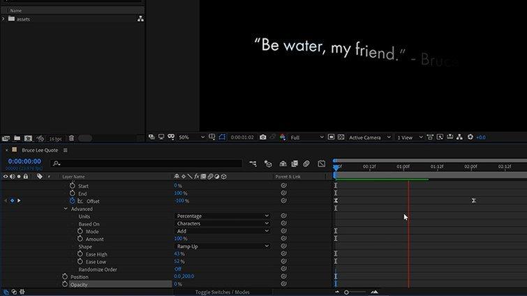 After Effects: animar las propiedades