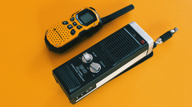 Walkie-Talkie frente a radio CB