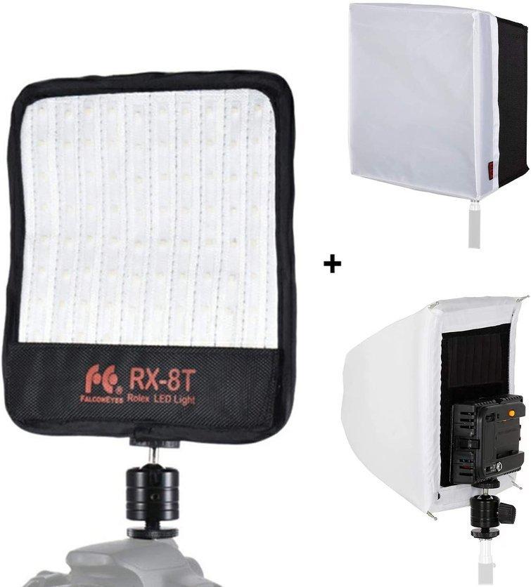 Luz RX-8T con difusor de caja de luz