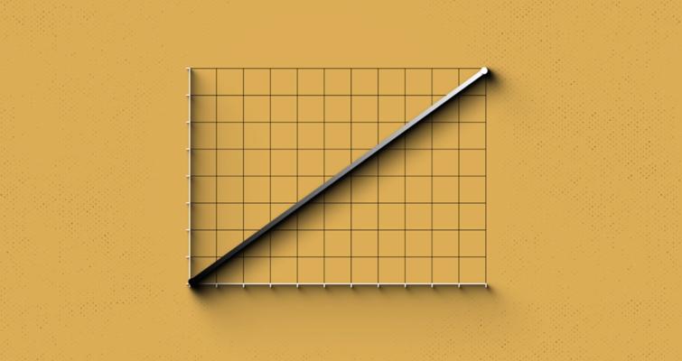 Un gráfico de curva