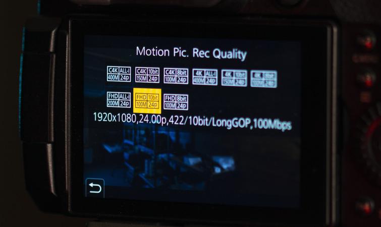 Filmación en 2021 en 1080p: selección de la resolución de video
