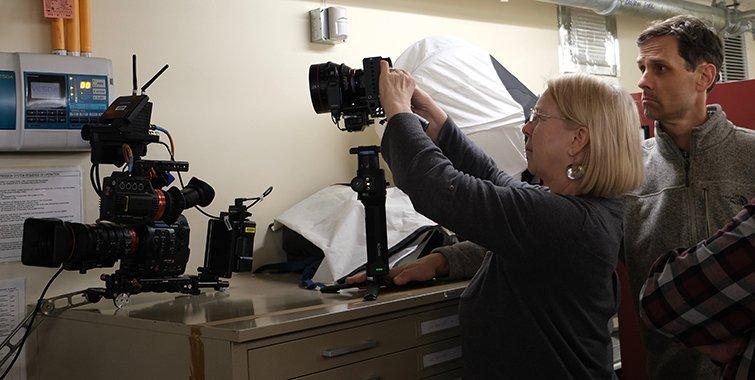 Directora de fotografía Claudia Raschke