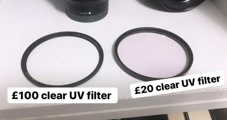 Filtro UV: económico vs. económico