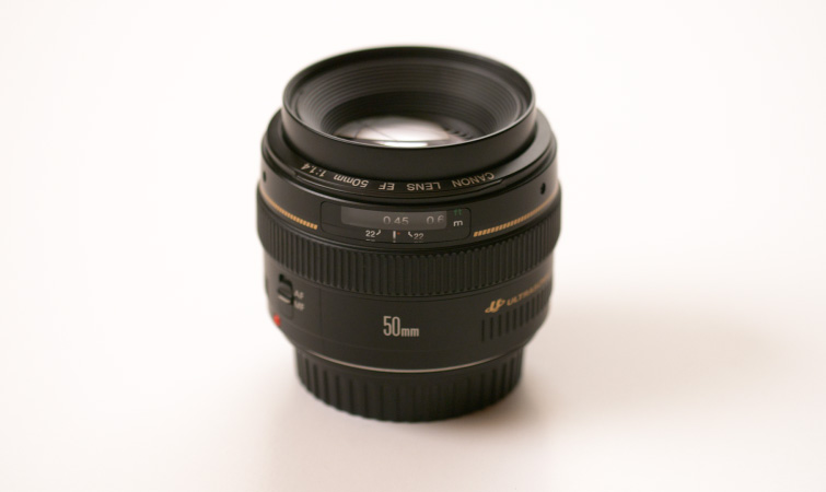 50 mm F-stop