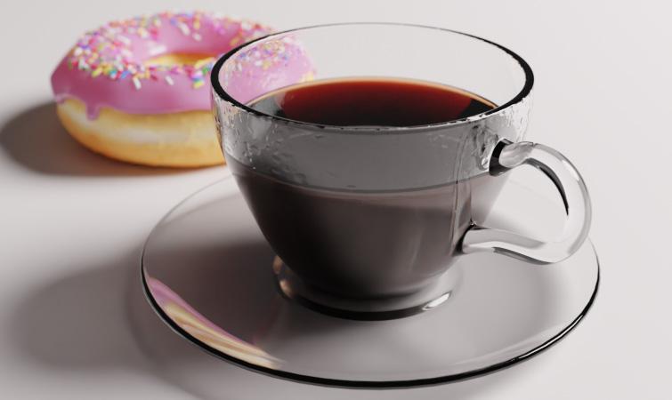Crea una taza de café