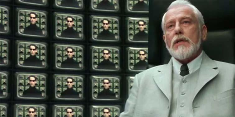 El arquitecto en The Matrix