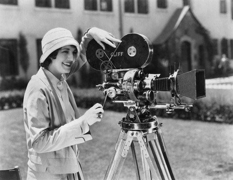 Cámara de película vintage